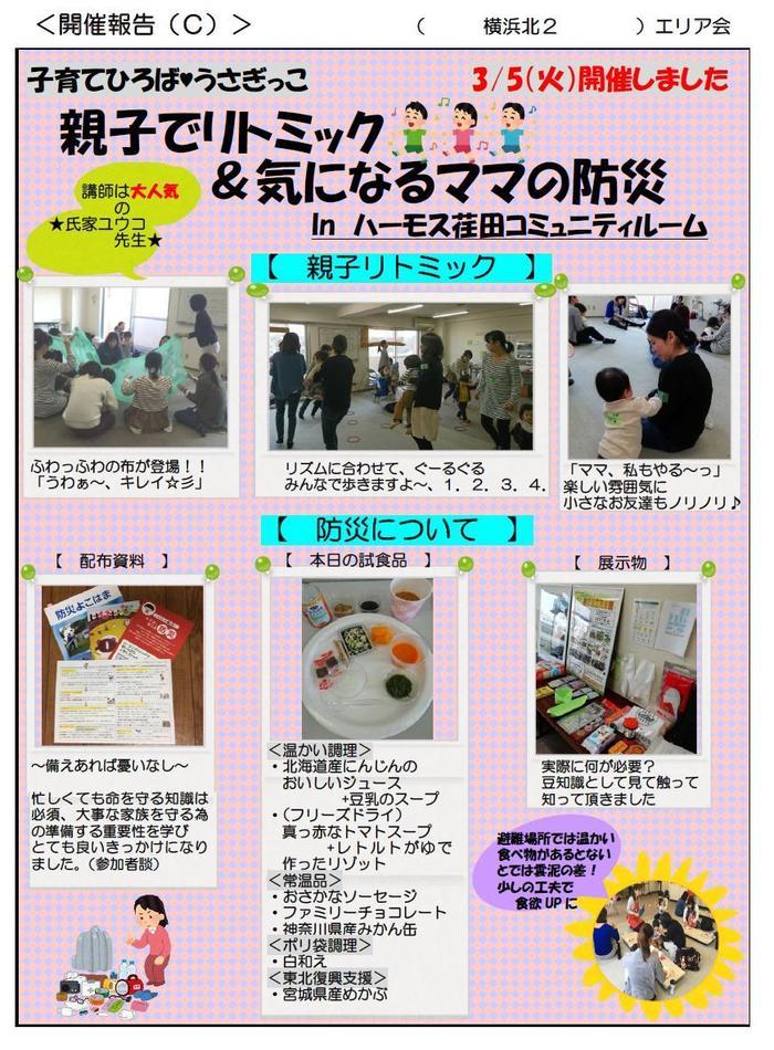 20190305yokohamakita2 usagikko.ritomikkumamanobousai.jpg